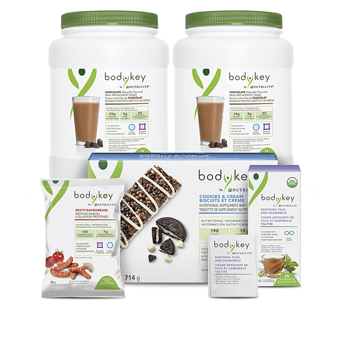 BodyKey™ ADD-ON Month 1 Made Easy Bundle – Chocolate/Chocolate
