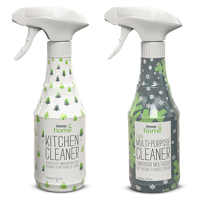 Amway Home™ Holiday Spray Bottles