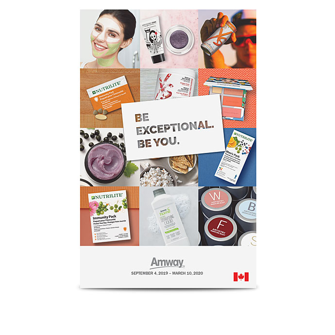 Amway™ Be Exceptional. Be You. Mini Catalog – English