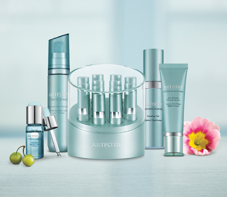 Artistry Intensive Skincare products.