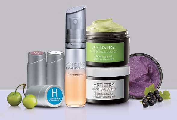 Artistry Signature Select skincare products.