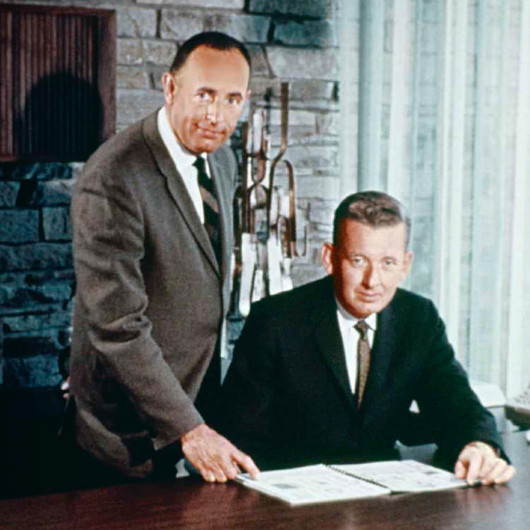 Rich DeVos and Jay Van Andel from the 1960's.