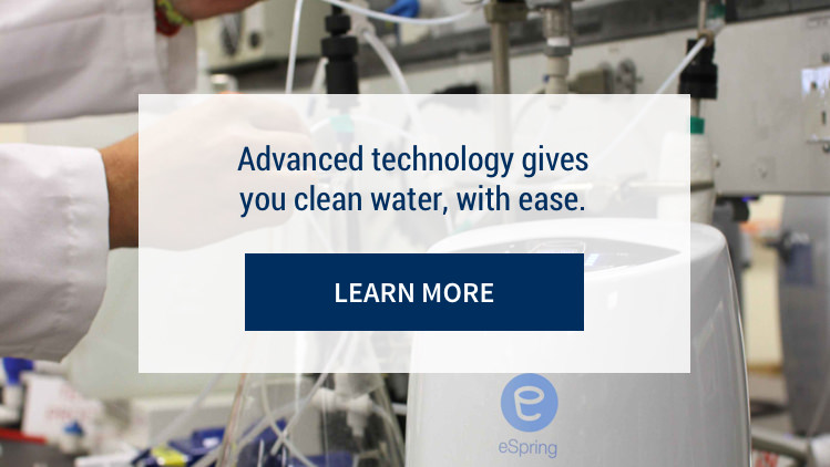 Advanced technology gives you clean water, with ease. Learn More.